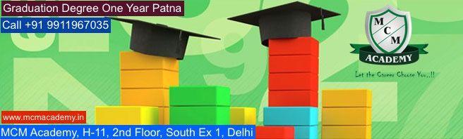 Graduation Degree One Year Patna
