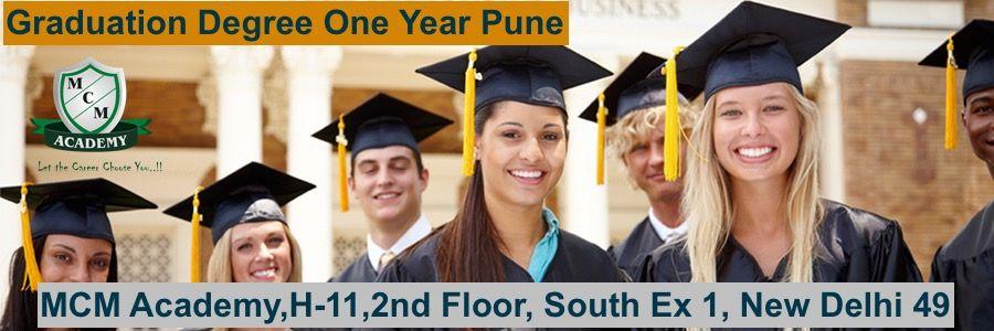 Graduation Degree One Year Pune
