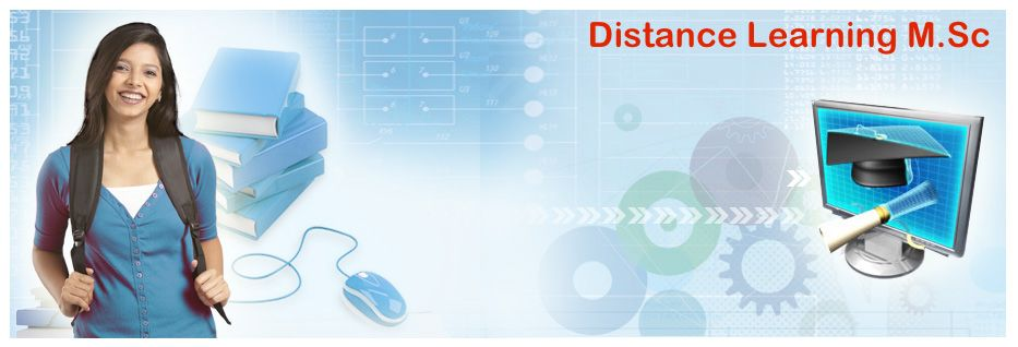 Distance learning M.Sc
