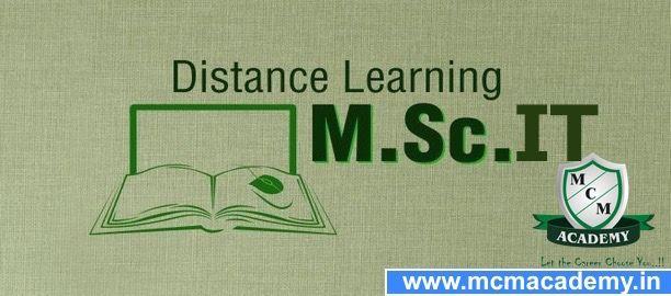 Online M.Sc IT Distance Degree