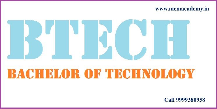 Bachelor of Technology (B.Tech)