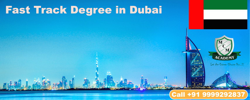 Fast Track Degree In Dubai