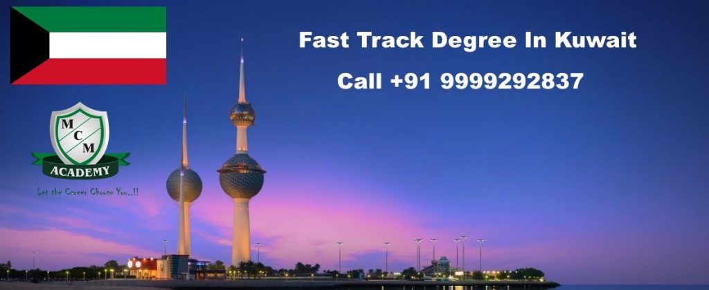 Fast Track Degree In Kuwait