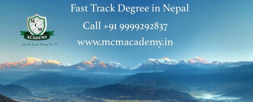 fast track degree in nepal