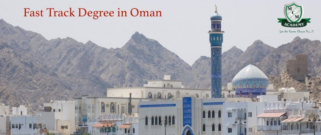 fast track degree in oman