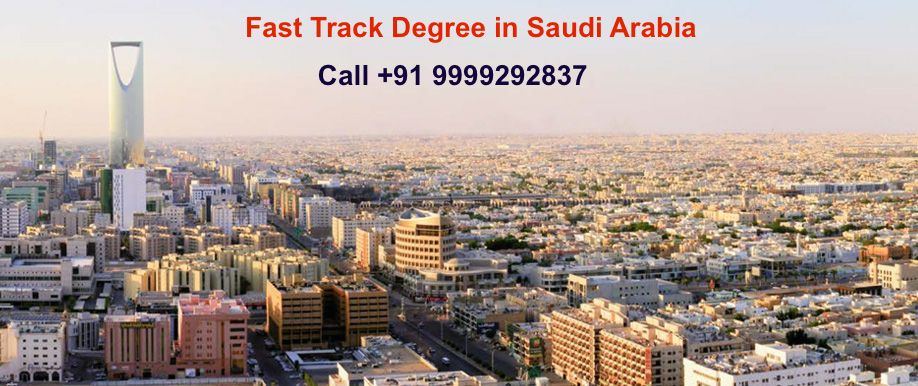 fast track degree in saudi arabia