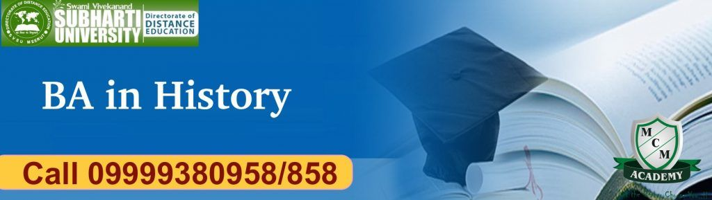 Subharti University BA History Distance Learning