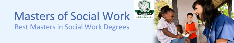 Master of Social Work MSW Distance Learning