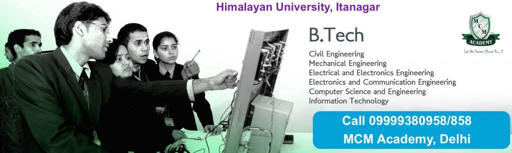 B.Tech Degree Himalayan university