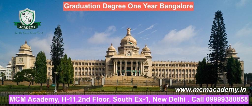 Graduation Degree One Year Bangalore