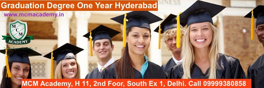 Graduation Degree One Year Hyderabad