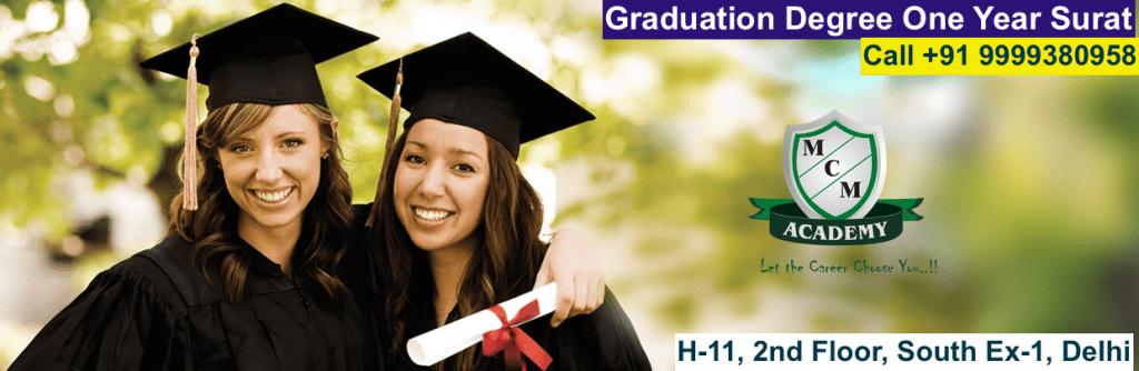 Graduation Degree One Year Surat