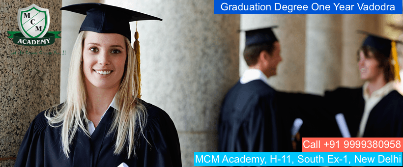 Graduation Degree One Year Vadodra