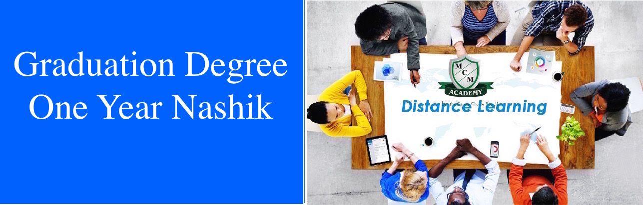 Graduation Degree  One Year Nashik