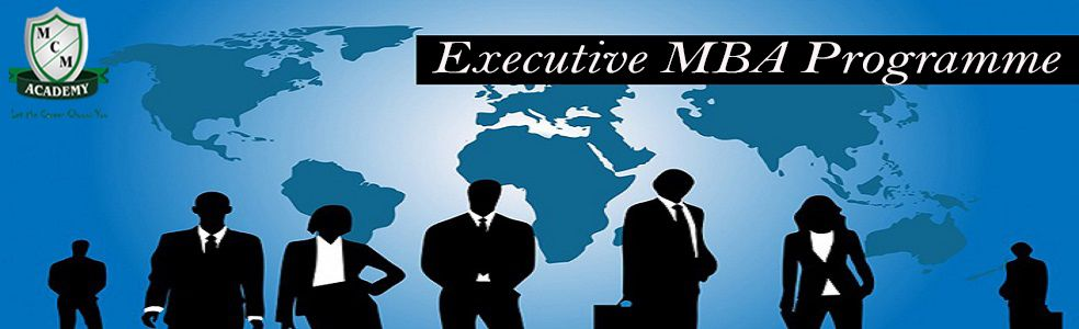 Executive MBA Distance