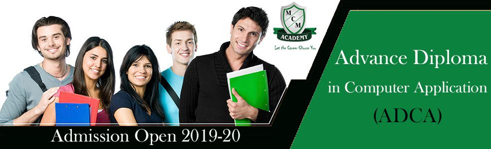 advance diploma in computer application ADCA