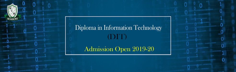 Diploma in Information Technology DIT