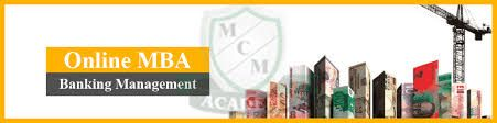 Distance Online MBA in Banking Management