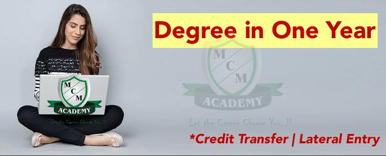 Graduation Degree One YearDhanbad